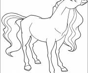 Coloring pages Horseland Marie