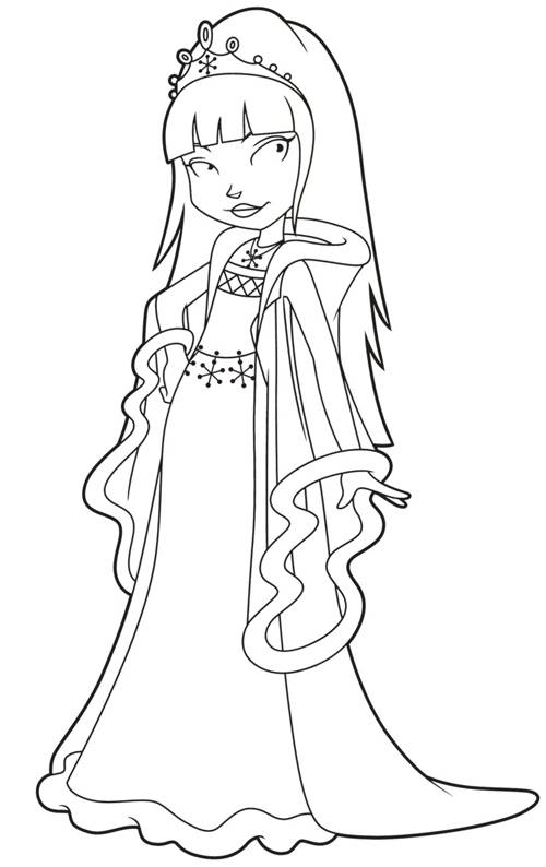 Free coloring and drawings Horseland online to print Coloring page