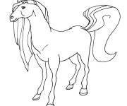 Coloring pages Horseland welcome at the ranch