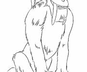Coloring pages Diego: Ice Age