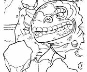 Coloring pages Ice Age animation movie