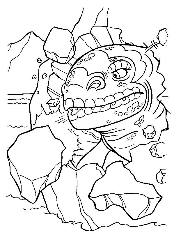 Free coloring and drawings Ice Age animation movie Coloring page