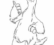 Free coloring and drawings Ice Age drawing to download Coloring page