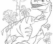 Coloring pages Ice Age: the dinosaur