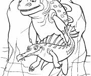 Coloring pages Ice Age: the villains
