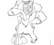 Free coloring and drawings The good: Ice age Coloring page