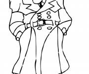 Coloring pages Film Inspector Gadget