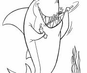 Coloring pages Free Easy Inspector Gadget
