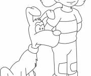 Coloring pages Free Inspector Gadget