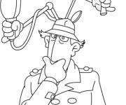 Coloring pages Inspector Gadget online