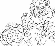 Coloring pages Invizimals Dragon drawing