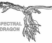 Coloring pages Invizimals Dragon Drawing to color