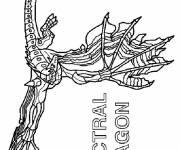 Coloring pages Invizimals Spectral Dragon
