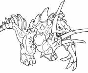 Coloring pages Invizimals Star Dragon