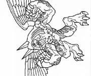 Coloring pages Invizimals the beast
