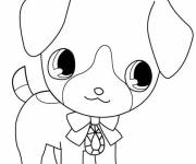 Coloring pages Beautiful Jewelpet