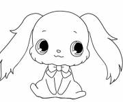 Coloring pages Drawing of Jewelpet