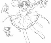 Coloring pages funny Jewelpets