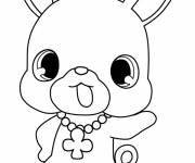 Coloring pages Jewelpet anime