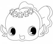 Coloring pages Jewelpet coloring