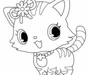 Free coloring and drawings Jewelpet coloring page Coloring page