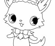 Free coloring and drawings Jewelpet downloadable for free Coloring page