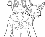 Coloring pages Jewelpet drawing for free