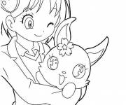 Coloring pages Jewelpet for children