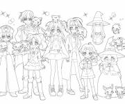 Coloring pages Jewelpet for kids