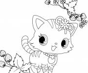 Free coloring and drawings Jewelpet free to cut Coloring page