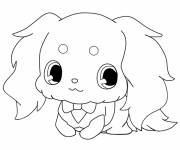 Coloring pages Jewelpet funny pets