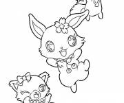 Coloring pages Jewelpet gorgeous