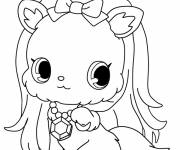 Coloring pages Jewelpet online