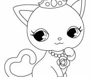 Free coloring and drawings Jewelpet Ruby Coloring page