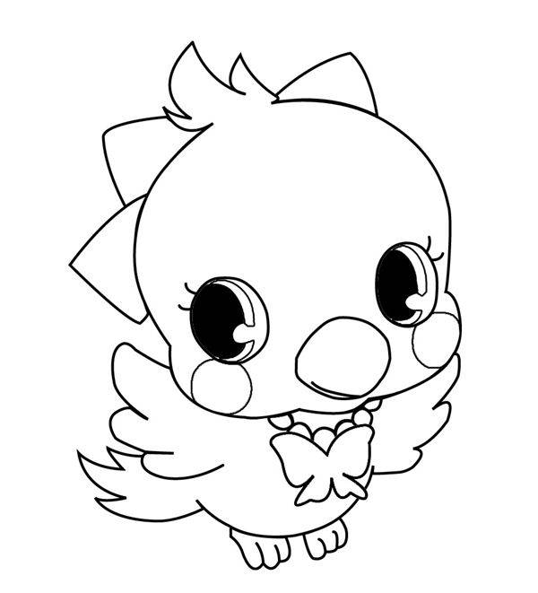 Free coloring and drawings Jewelpet species Coloring page