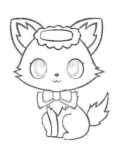 Free coloring and drawings Jewelpet sunshine Coloring page