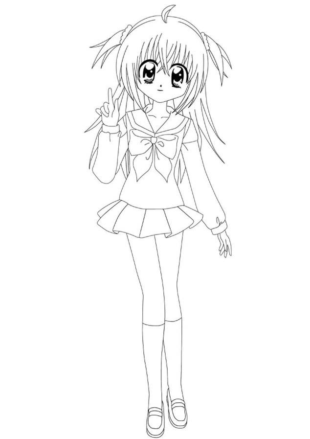 Free coloring and drawings Kilari easy to color Coloring page