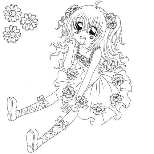 Free coloring and drawings Kirari online free Coloring page