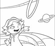 Coloring pages Little Einsteins and the planets online
