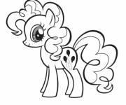 Coloring pages Pinkie Pie my little pony
