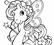 Coloring pages The cute: My little pony