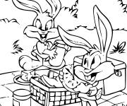 Free coloring and drawings Looney Tunes Drawing Coloring page