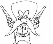 Coloring pages Looney Tunes Sam online