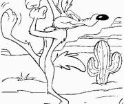 Free coloring and drawings Looney Tunes Tasmanian Devil online Coloring page