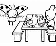 Free coloring and drawings Didou online Coloring page