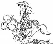 Coloring pages Maternal lucky luke