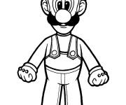 Coloring pages Free Luigi