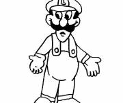 Coloring pages Luigi free to print