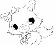 Coloring pages Moon Cat