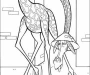 Coloring pages Madagascar to color